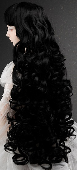 (13 - 14) Castle Sobazu Wig (Black)