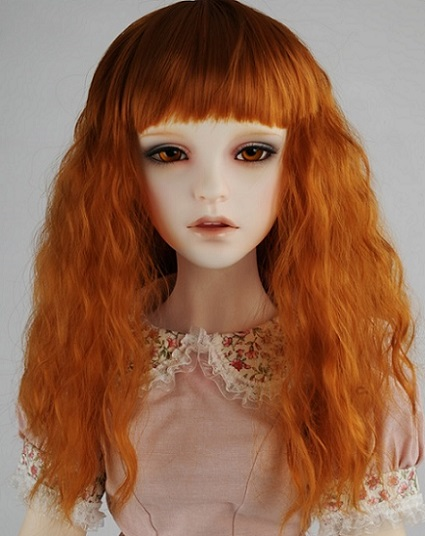 (13 - 14) Bang Wave Wig (Carrot)