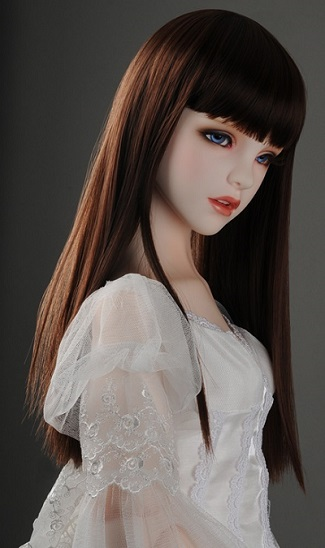 (13 - 14) Forest Straight Wig (R. Brown)