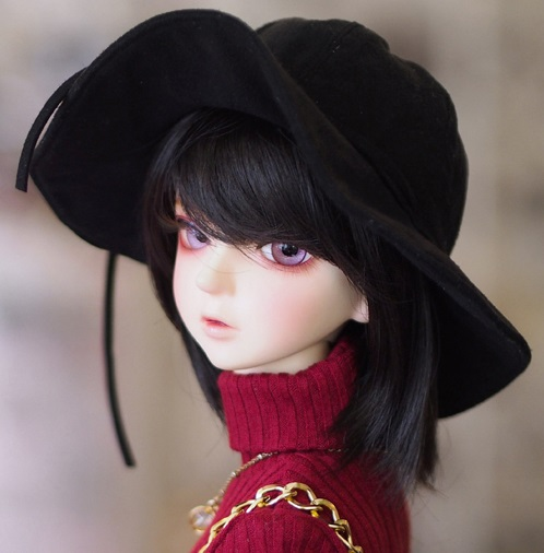 (L) NAL - Floppy Hat (Black)