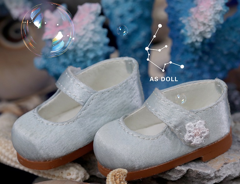 1/6 Baby Doll Loli Shoes - Light Blue