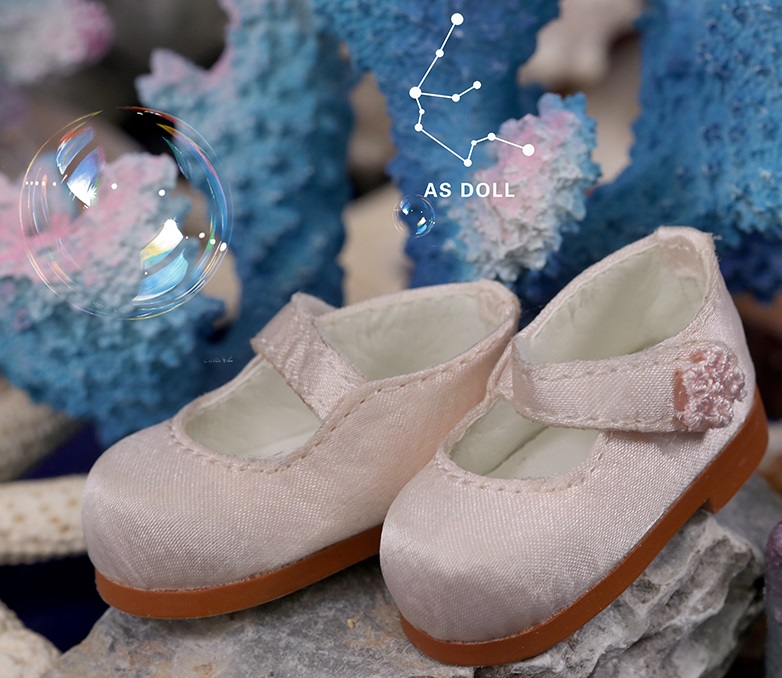 1/6 Baby Doll Loli Shoes - Light Pink