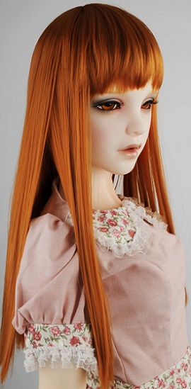 (13 - 14) Forest Straight Wig (D. Carrot)