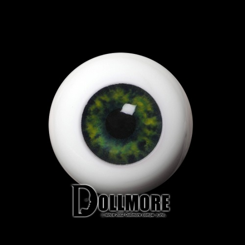 Half Round Acrylic Eyes 20mm (Green)