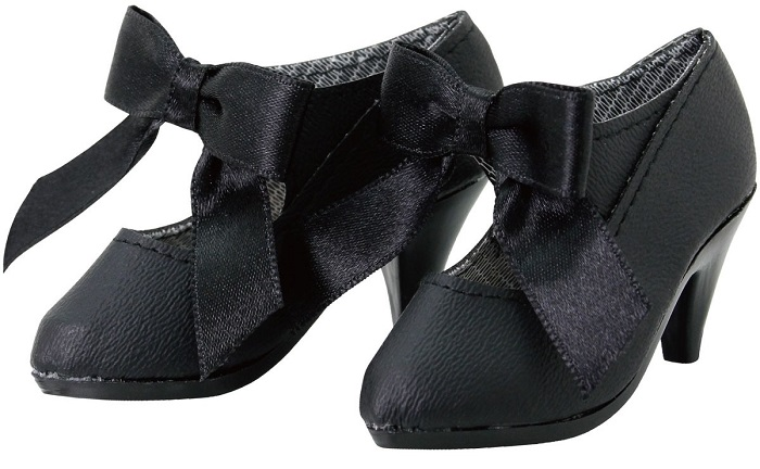 50 Classical Ribbon Shoes (Black)