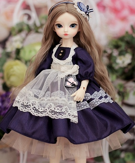 [Alice Antique] Bunny35 - Navy