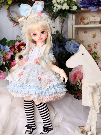 BDF Rabbit and Alice Set