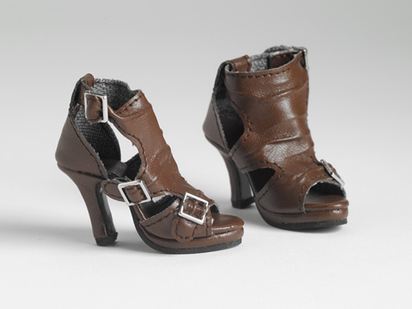 Brown Buckle-Up Boots