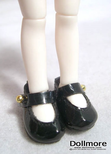 Banji Size - Mary Janes (Black)