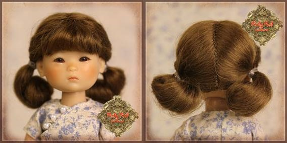 Brown Mohair Wig - HD0008A