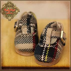 Checker Mary Janes - HH012A