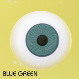 Crystal Puppenaugen Acrylic Eyes #607 - Green, 20mm