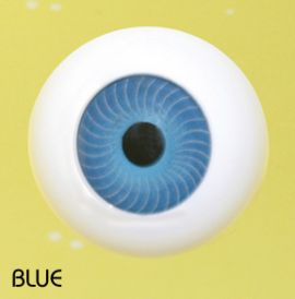 Crystal Puppenaugen Acrylic Eyes #607 - Blue, 14mm