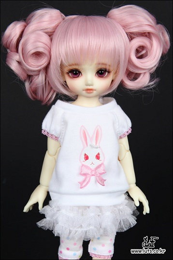 Cutie Bunny Set (White) For Honey Delf