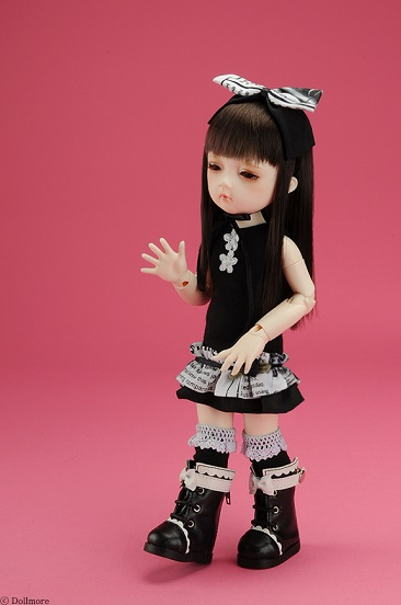 Dear Doll Size - Cutie Mii Dress (Black)