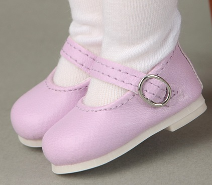 Dear Doll Size - Macaron Mary Jane Shoes (Lavender)