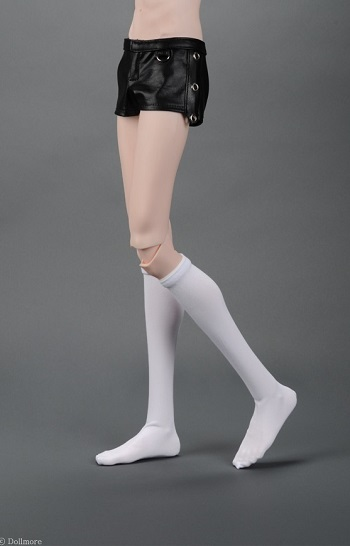Glamor Model M - KP Knee Stockings (White)