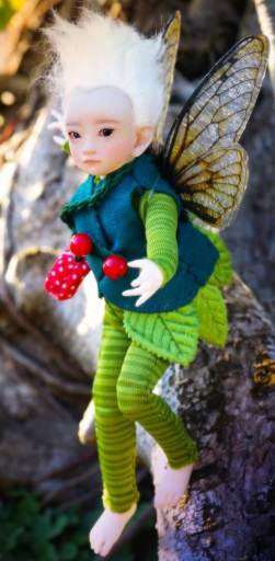 Green Fairy Boy Outfit Set