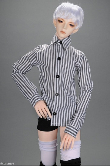 H Bean Shirt (Stra Gray)