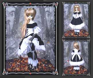 "HONEY BEE MANOR ""Lolita Wear"" #2031"