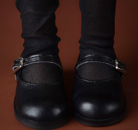 Black Dollmore Illua Doll Shoes Gemma Boots
