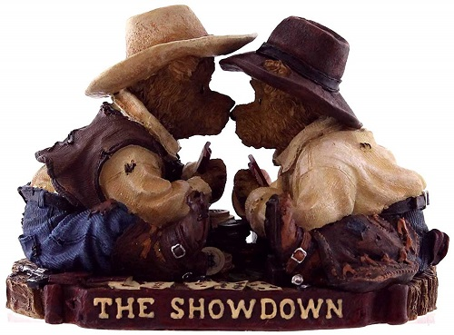 Johnny and Wayne... The Showdown
