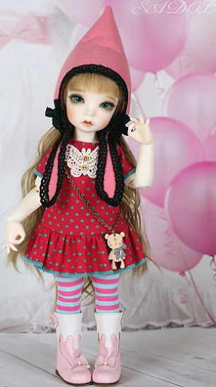 [Kokoma] Cutie Clothes - Pink Set