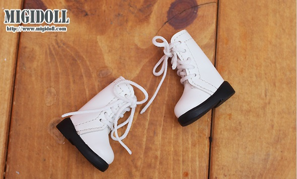 Lace up Boots (CS Faith-004) - White
