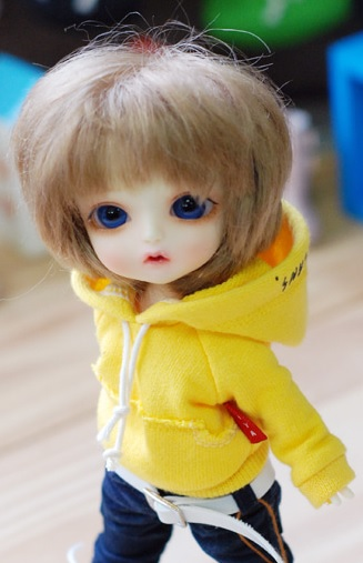Lati Vintage Hooded T - Yellow