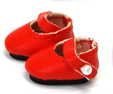 Mary Janes (20mm) - Red