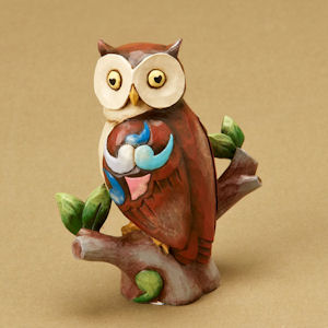 Mini Owl Figurine