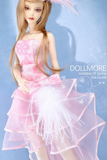 Model F - Spring Waltz Dress Set (Pink)