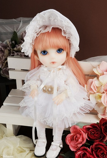 Mokashura Size - Sanavoda Dress Set (White)