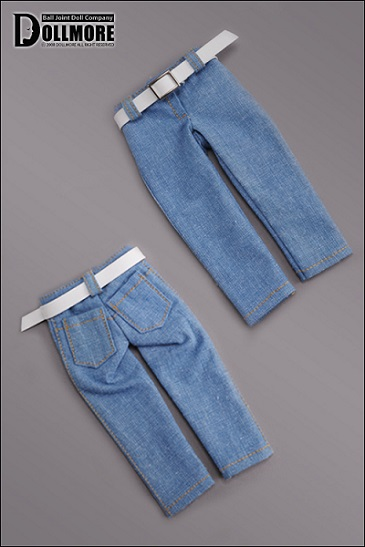 Narsha - Basic Jean Pants (Lt. Blue)