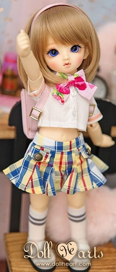 Plaid Skirt Uniform - YOSD Ver.