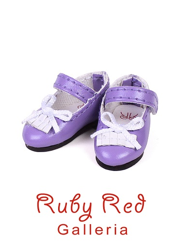 Purple Mary Janes