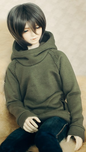SD17 Boy Chic Hooded-T - Khaki