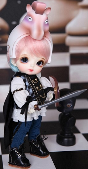 Tiny Delf Tyltyl - Chess Knight ver. - Real Skin Normal