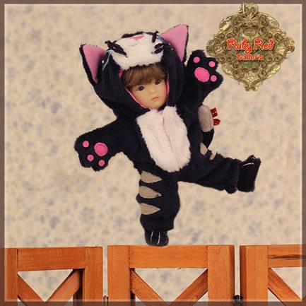 Yu Ping Animal Costume - Black Cat