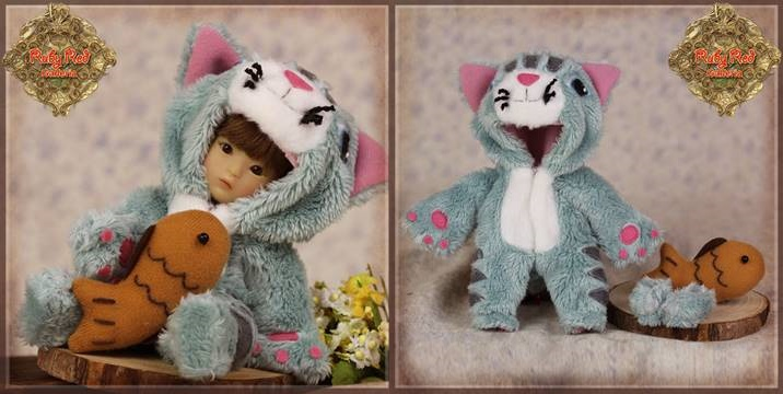 Yu Ping Animal Costume - Blue Cat