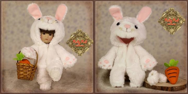 Yu Ping Animal Costume - White Rabbit
