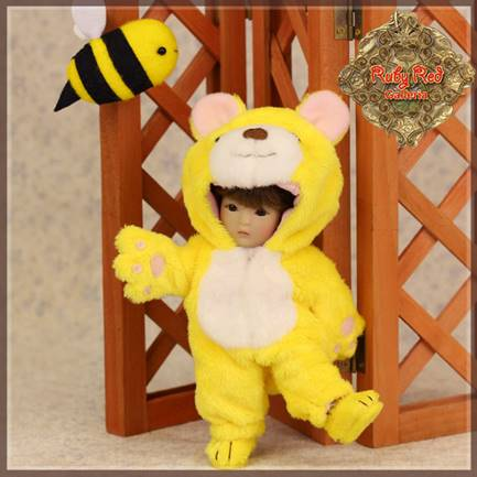 Yu Ping Animal Costume - Yellow Bear